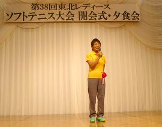 3大川京子日本レディース連盟会長挨拶.JPG