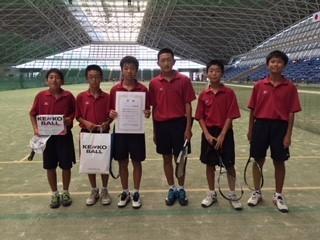 3男子準優勝の横須賀中学校.jpg