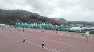 5)ねんりんピックソフトテニス競技会場風景.JPG
