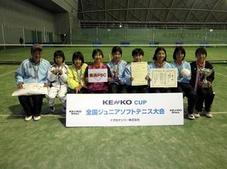�A女子準優勝:横浜PSC�@.JPG