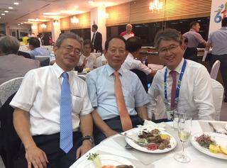 �D国際連盟朴会長、韓国連盟李会長と.JPG