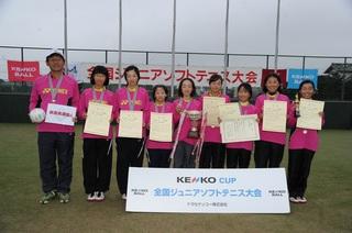 サンスポトーナメント(女子)2位群馬県選抜A.jpg