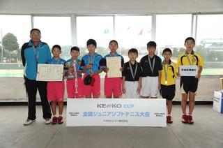 サンスポトーナメント(男子)2位宮城県選抜B.jpg