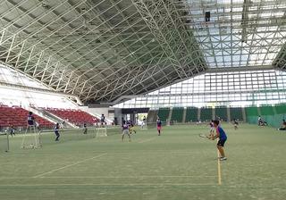 三重国体開催記念高校ソフトテニス大会�@.JPG