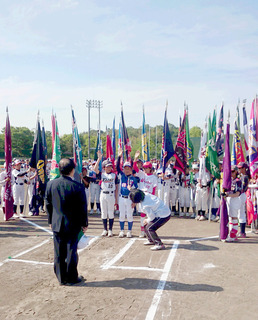 三重県小学生男女ソフトボール大会選手宣誓.JPG