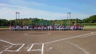 三重県小学生男女ソフトボール大会開会式風景.JPG