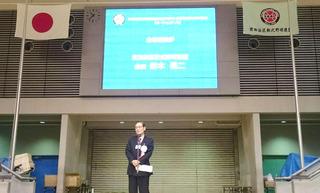 主催者挨拶 世田谷区軟式野球連盟鈴木会長.jpg