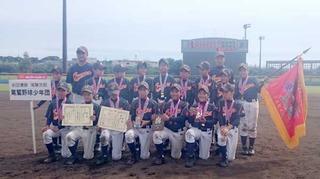 優勝した尾鷲野球少年団.JPG