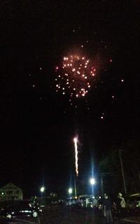 全国500歳野球大会の為に打ち上げられた花火の数々 (3).JPG