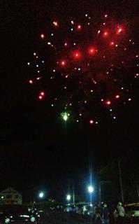 全国500歳野球大会の為に打ち上げられた花火の数々 (4).JPG
