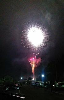 全国500歳野球大会の為に打ち上げられた花火の数々 (5).JPG