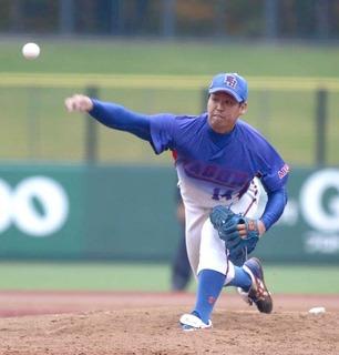 準優勝した和合病院の水野投手.jpg