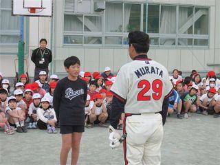 生徒を代表して村田氏へお礼の言葉.JPG
