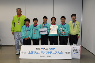 表彰ケンコーT男3位(和歌山県選抜A・和歌山).jpg