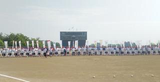 開会式 全国より32チーム参加 .JPG