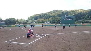 6)諫早市中学生に依る始球式.JPG